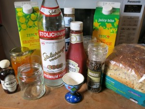 Stoli Big Breakfast Ingredients