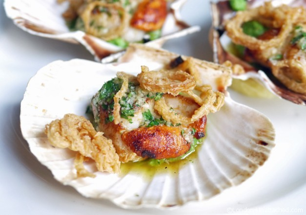 The Well - Scallops - Clerkenwell