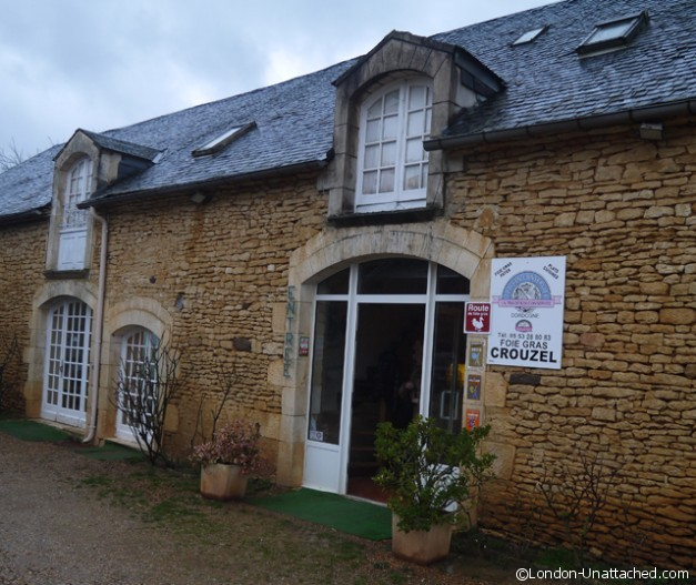 The shop and factory - foie Gras