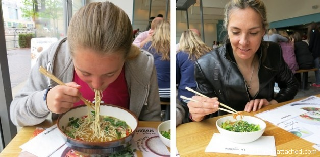 Wagamama Eating
