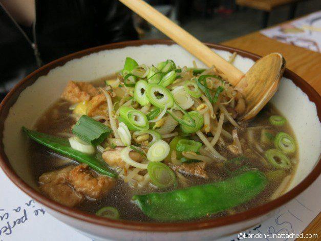 Wagamama Salen Soba Vegetarian