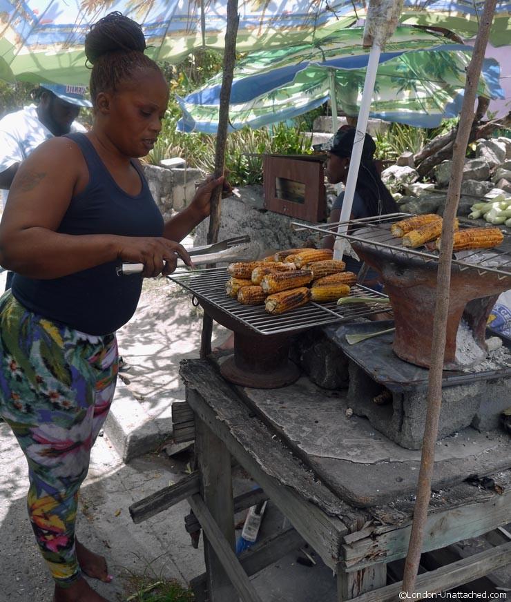 Antigua - Corn Seller