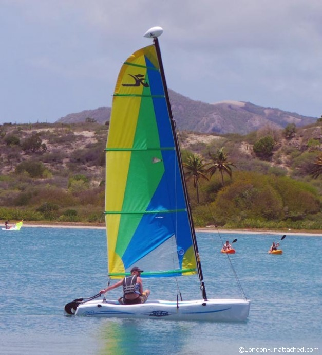 Antigua - Hobbie Cat Sailing