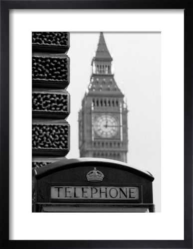 Big Ben and Phone Box London