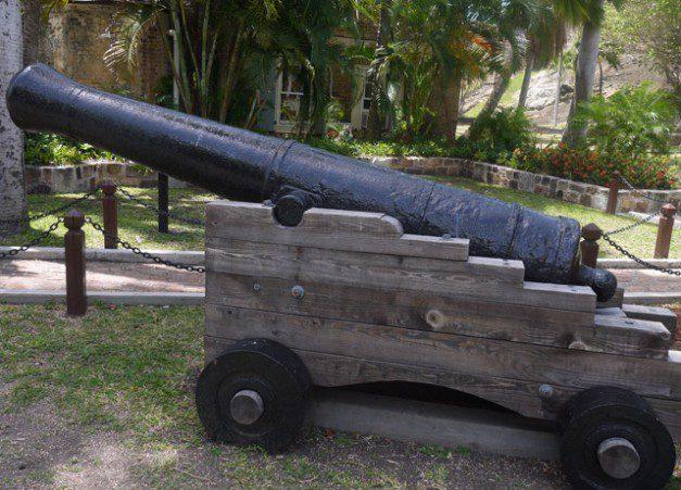 Cannon - Nelsons dockyard