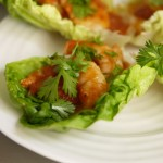Back to the 5:2 Diet – Spicy Prawn Wraps