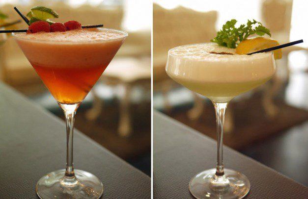 Cocktails at Chakra