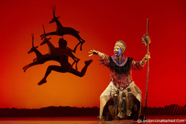 Disney's The Lion King. Photo by Brinkoff and Mogenburg