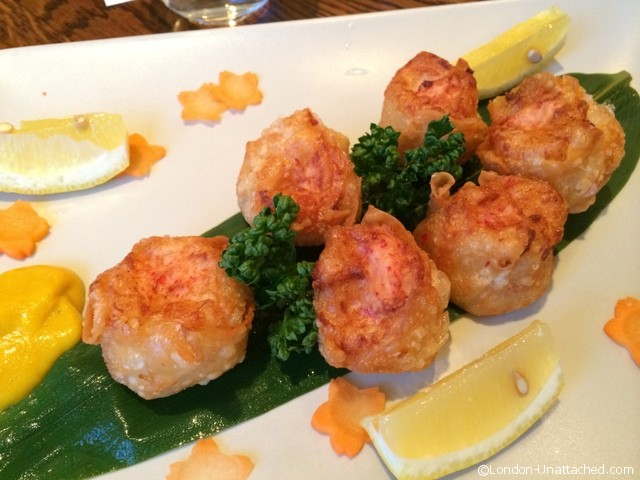Chisou seafood dumplings