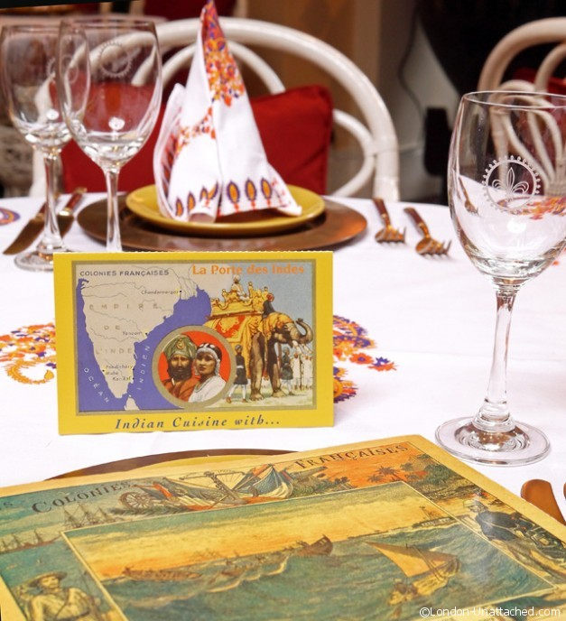 La Porte des Indes Table Setting