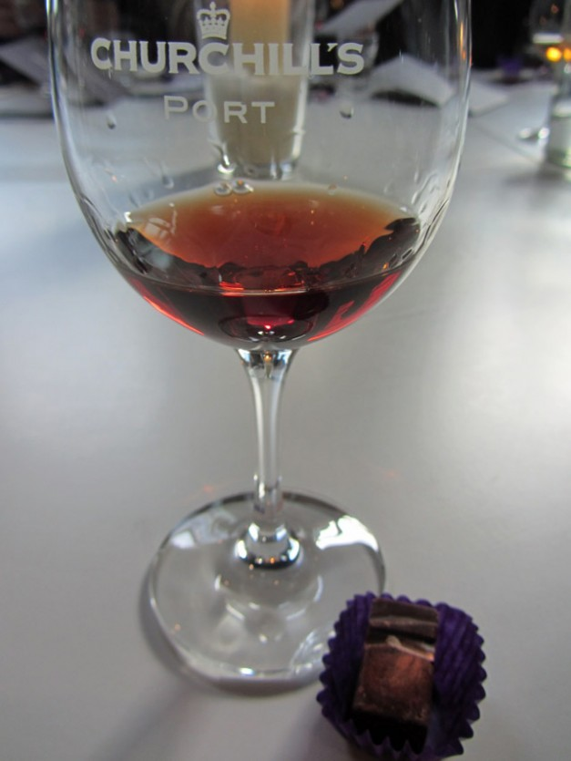 Port and chocolate