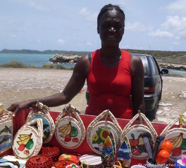 Street Seller Antigua 2