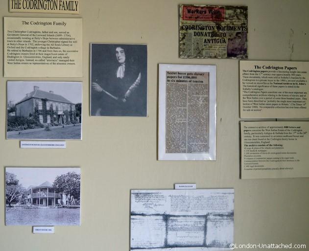 The Codrington Family History Antigua