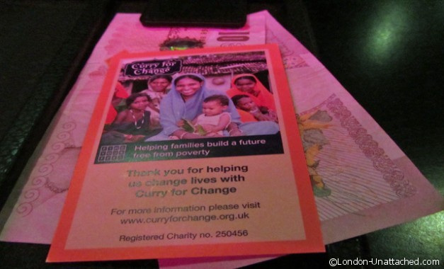 Carom - curry for change donation