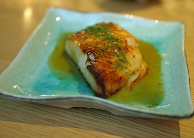 Black Cod nikkei style at Chotto Matte