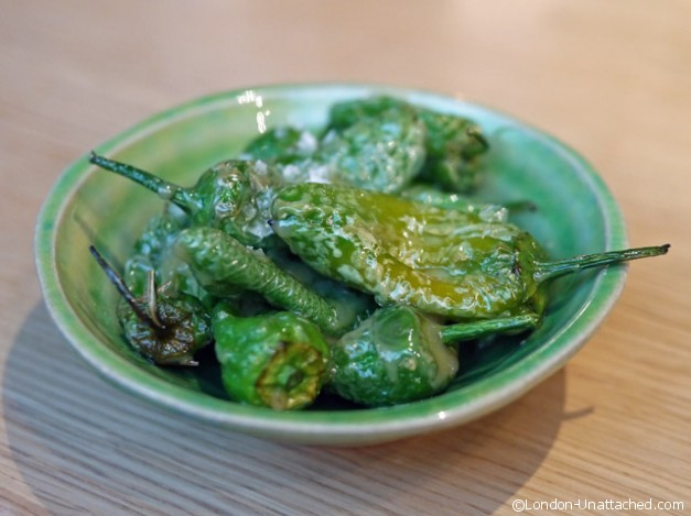 Chotto Matte - Padron Peppers
