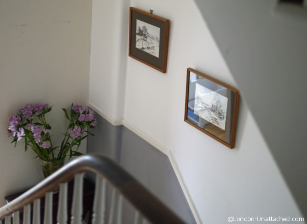 Flowers in the hallway - Fulham