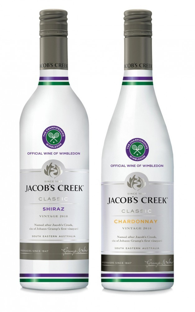 Jacobs Creek Wimbledon Wine