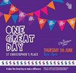 *StopPress* One Great Day  St Christopher's Place London