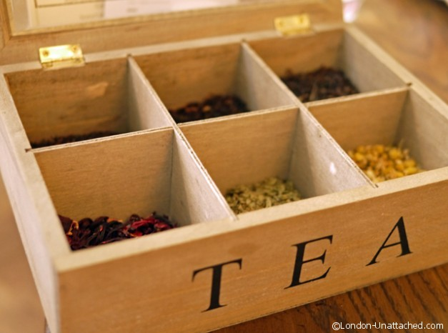 Pantry at 108 Tea box