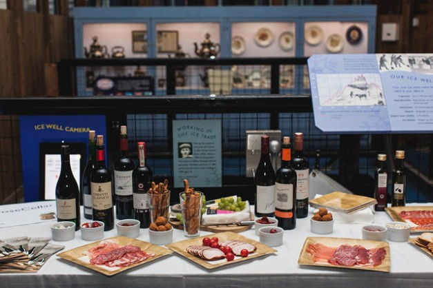 Waitrose Wine Event - Food