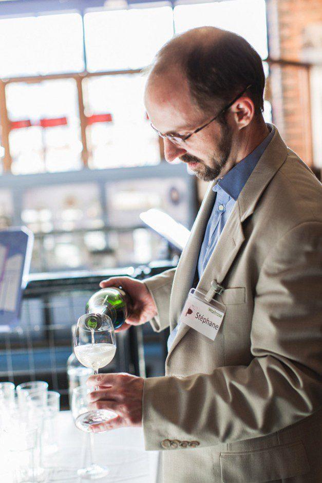 Waitrose Wine Event Stephane