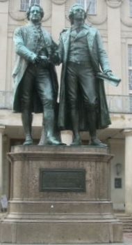 Weimar statue