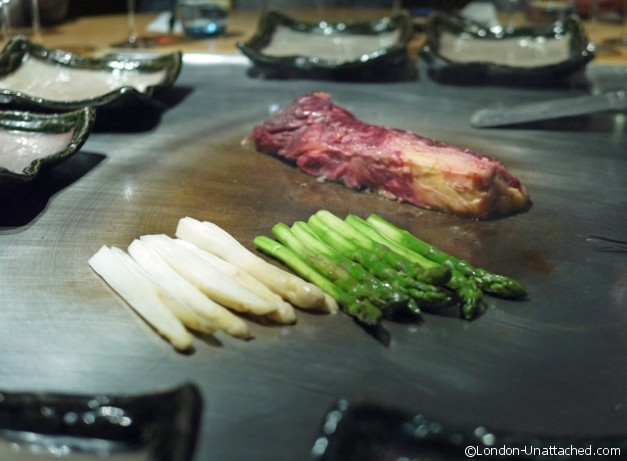 matsuri Beef and Asparagus