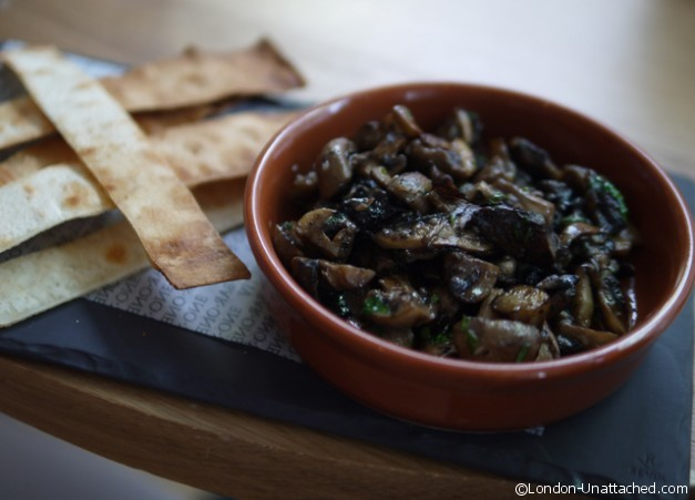 All Bar One - Garlic Mushrooms
