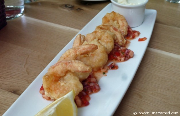 All Bar One - Tempura Prawns