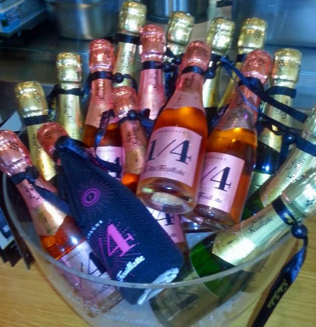 Champagne Quarter Bottles