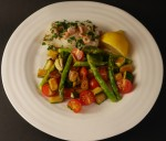 Two Steps Forward, One Back – 5:2 Diet Again – Cod with Shrimps