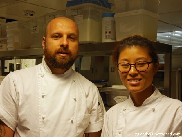 Head and pastry chef at Ampersand Hotel
