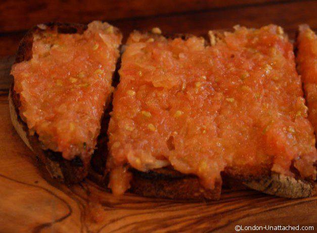 Iberica - tomato Bread