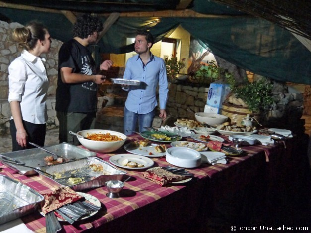 Masseria Sotto le Stelle Party - food