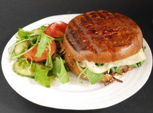 Portobello Mushroom Burger – 5:2 Diet Plus