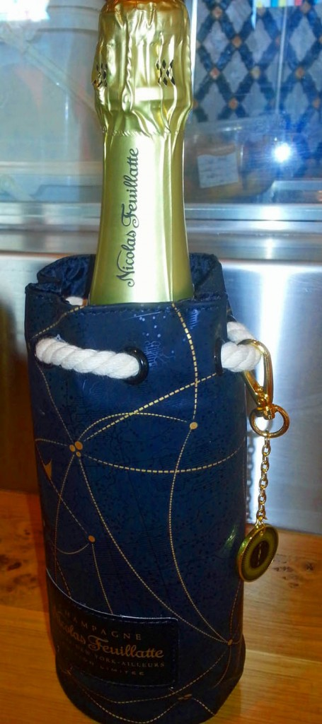 Posh Champagne Feuillatte Bottle Cover