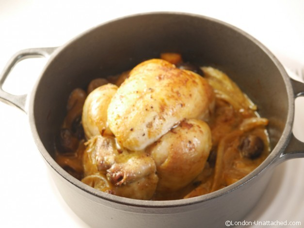 Poussin in Chasseur pot