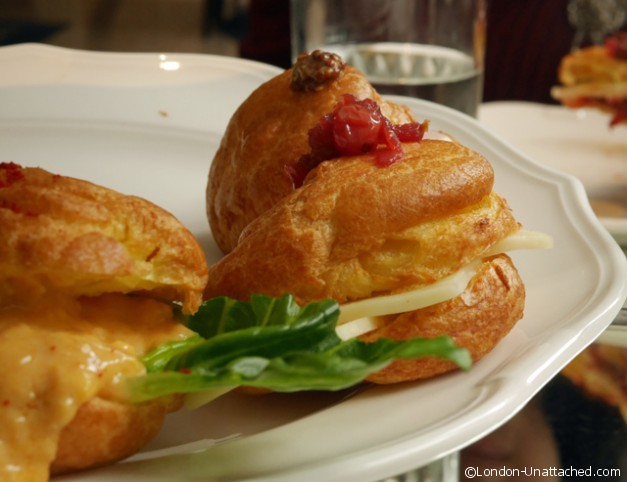 Savoury Choux at Ampersand Hotel