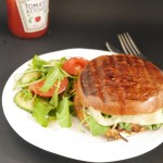 Healthy Burgers? 5:2 Diet and Healthy Portobello Mushroom Burger