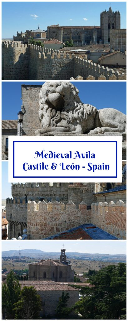 Avila - a Medieval City in Castile and Leon, Spain - UNESCO