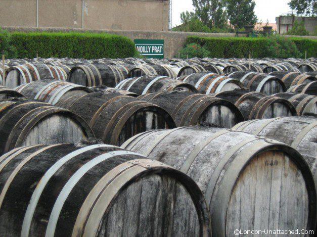 Barrels Noilly Prat