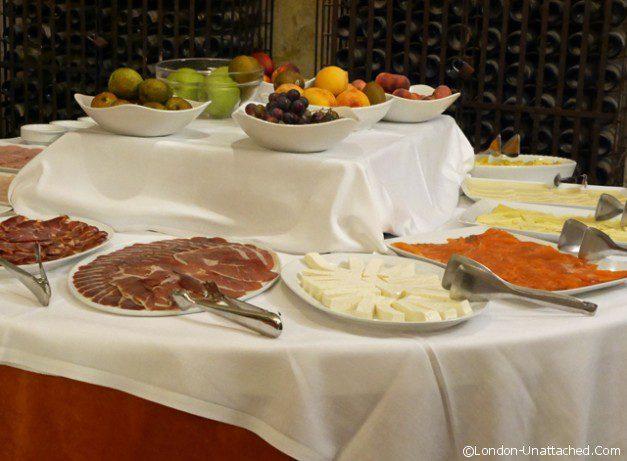 Castillo de Buen Amor Breakfast Buffet