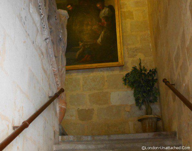 Castillo de Buen Amor Staircase
