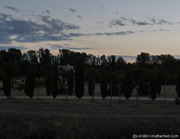 Castillo de Buen Amor View
