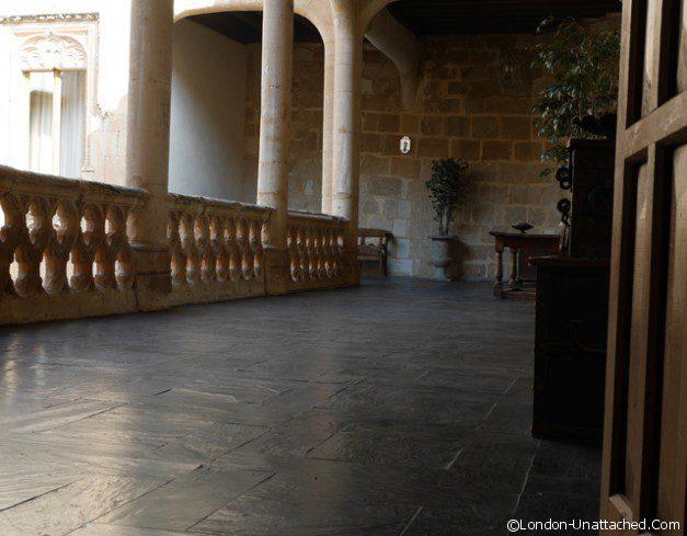 Castillo de Buen Amor Walkway