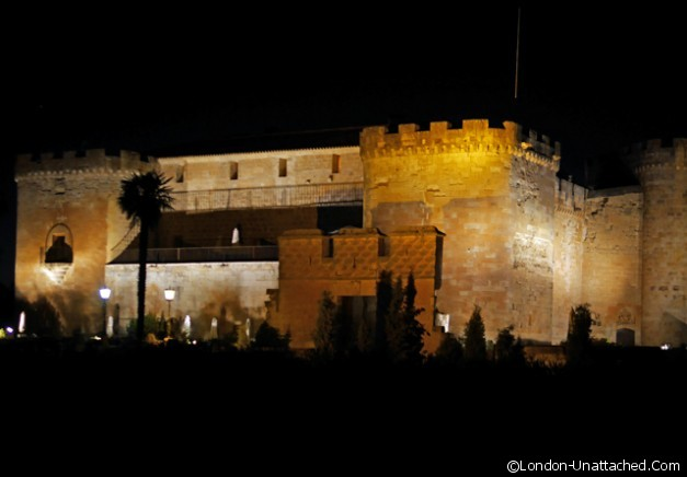 Castillo de Buen Amor at Night
