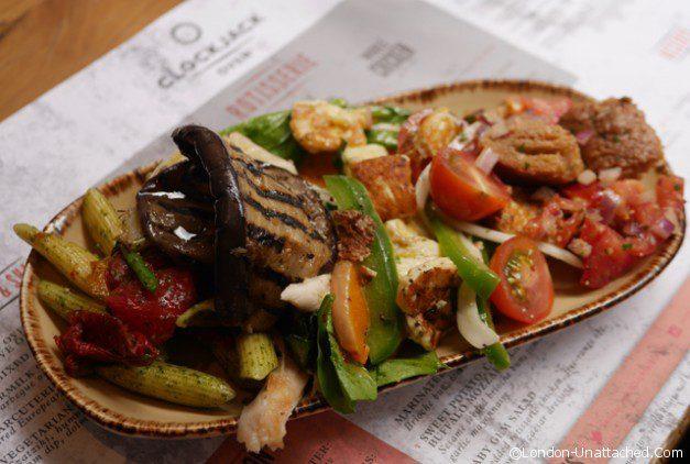 Clockjack Chicken Salad plate 2
