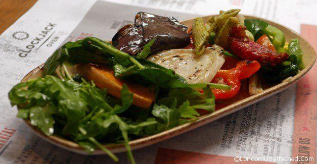 Clockjack chicken Salad plate 3