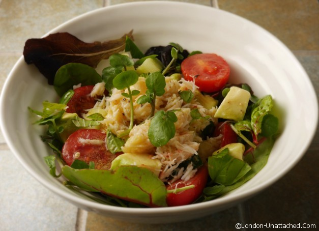 Crab, Grapefruit and Avocado Salad copy